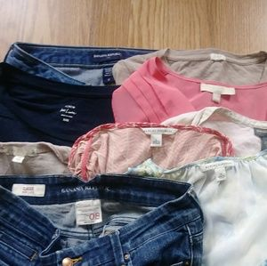 9 Piece J. Crew/Banana Republic Reseller Box